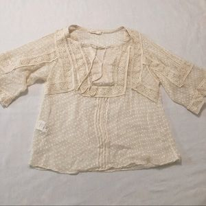 🆕NWOT Anthropology {Meadow Rue} blouse